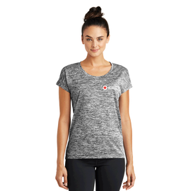 Sport-Tek Women's PosiCharge Electric Heather Sporty T-Shirt