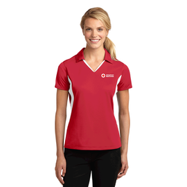 Women's Side Block Polo Shirt
