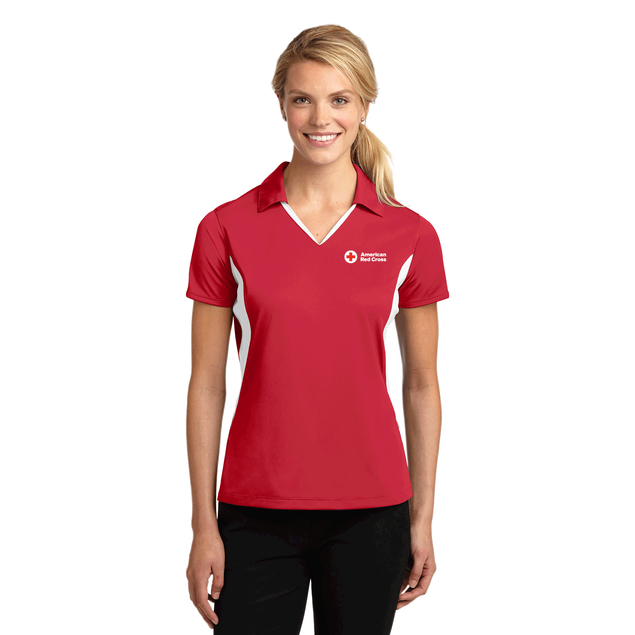 Ladies Side Block polo
