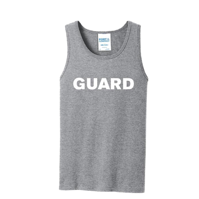 GUARD - Port & Company Core Cotton Tank Top