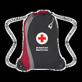 Lifeguard Mesh Bag String Backpack