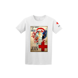 Tee Shirt with Spirit of America print