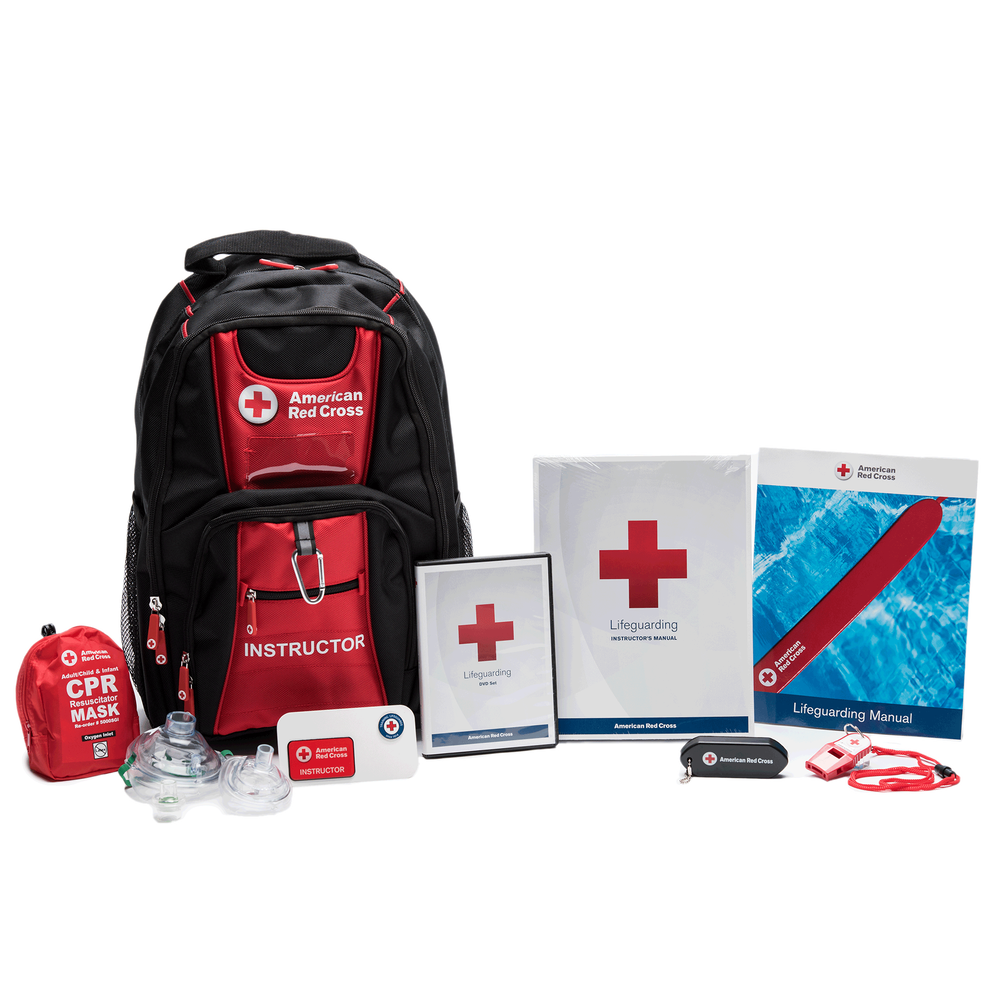 24908931375c American Red Cross Deluxe Lifeguarding Instructors Kit