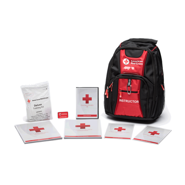 First Aid/CPR/AED Deluxe Instructors Kit with Backpack