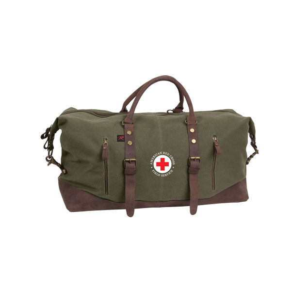 Extra Large Canvas Weekender Duffle Bag