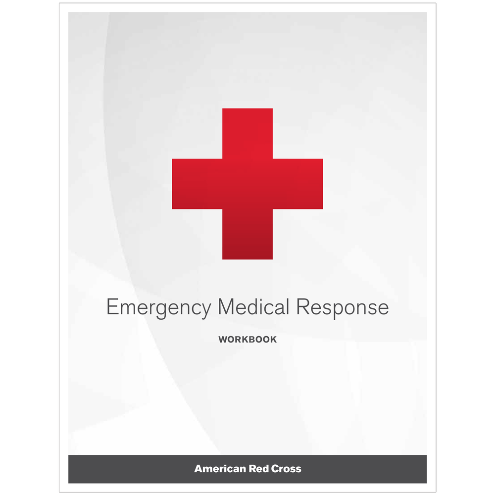 Emergency Medical Response Workbook | Red Cross Store
