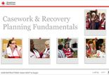 Casework and Recovery Course Screenshot
