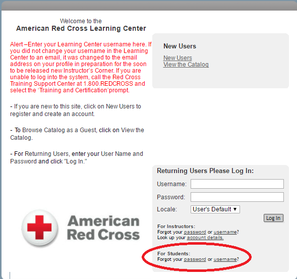 Online Class Frequently Asked Questions Red Cross