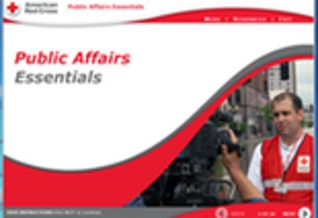 Public Affairs Fundamentals Screenshot