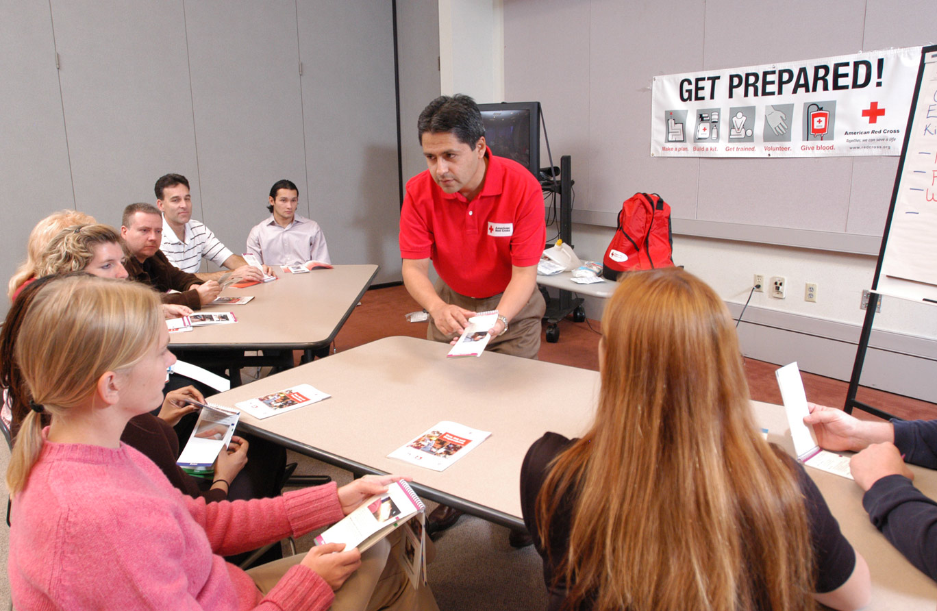 Red Cross Instructor Training