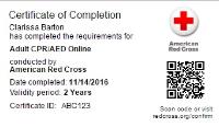 Digital Certifications | Red Cross